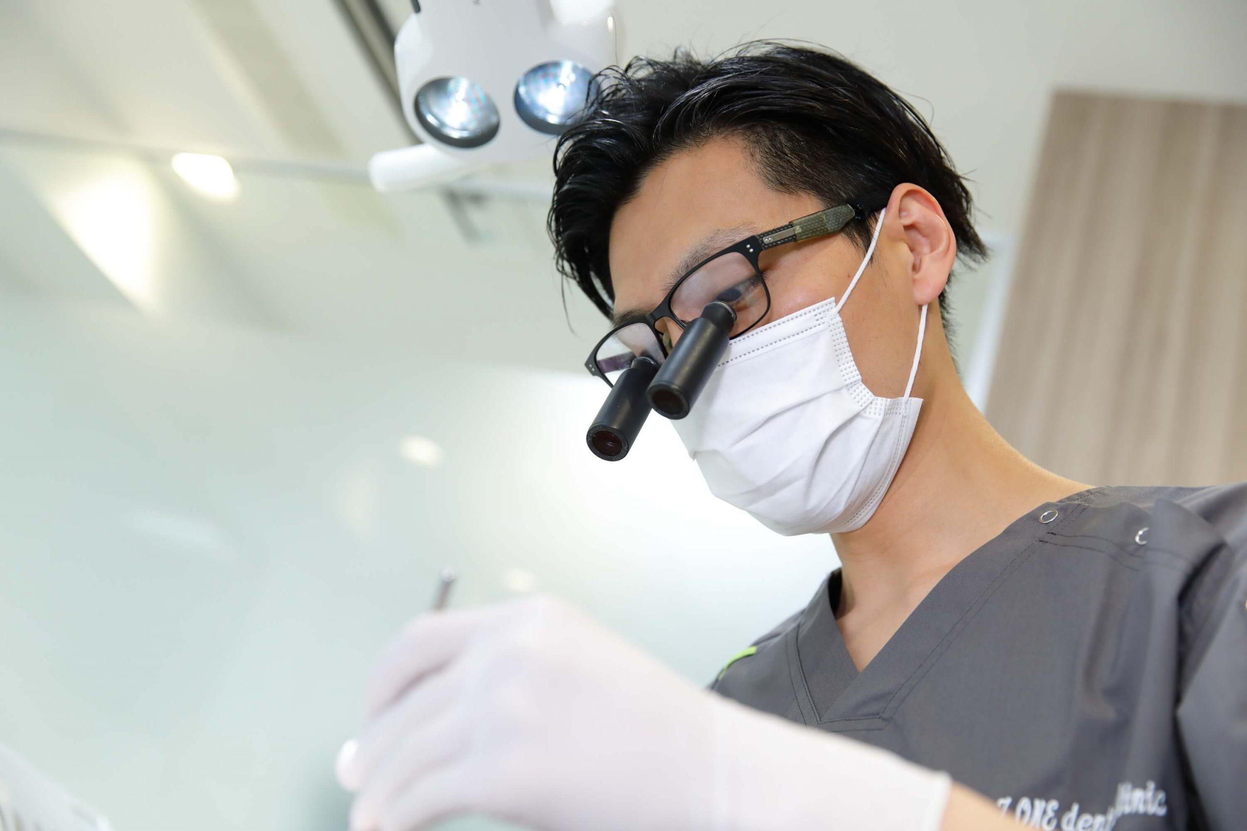歯科用拡大鏡(ルーペ)